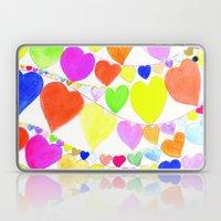 garlands of hearts  Laptop & iPad Skin