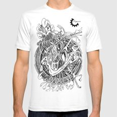 mayan disorder Mens Fitted Tee SMALL White