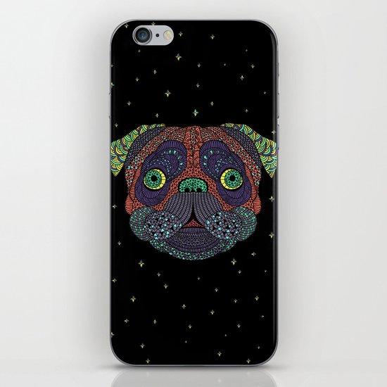 Intergalactic Dog iPhone & iPod Skin