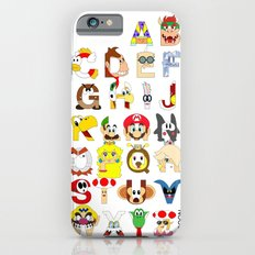 Super Mario Alphabet iPhone 6 Slim Case