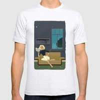 Marilyn Monroe Mens Fitted Tee Ash Grey SMALL