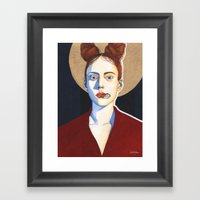 Close Up 5 Framed Art Print