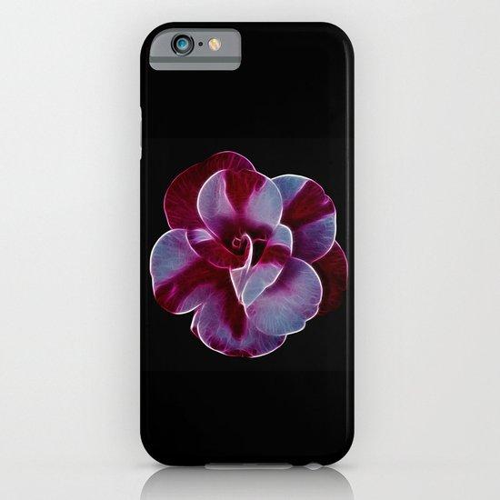 Camellia fractal iPhone & iPod Case
