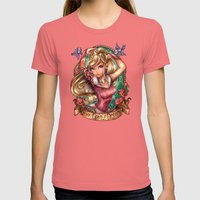 Once Upon A Dream Womens Fitted Tee Pomegranate SMALL