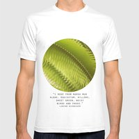 Lemon Grass Mens Fitted Tee White SMALL