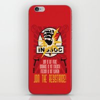Join The Resistance iPhone & iPod Skin