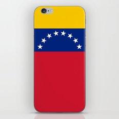 National flag of  Venezuela - Authentic version iPhone & iPod Skin