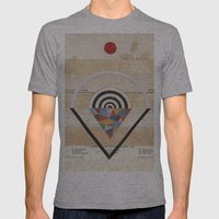 Prism Mens Fitted Tee Athletic Grey SMALL