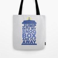 Snog Box (Tardis) Tote Bag