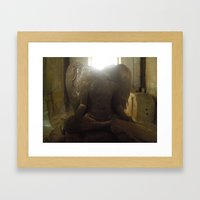 Did You See That? Framed Art Print