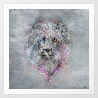 Heart Like A Lion Art Print