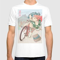 Ride Free! Mens Fitted Tee White SMALL