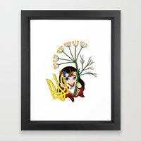 Ukrainian Symbol Framed Art Print