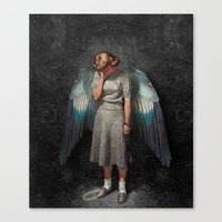 Fallen Angel (2015)  Canvas Print