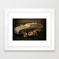 Mad Max Interceptor Framed Art Print