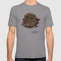Echeveria Agavoides Mens Fitted Tee Athletic Grey SMALL