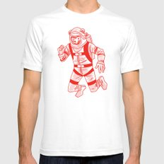 Astrobear Mens Fitted Tee White SMALL