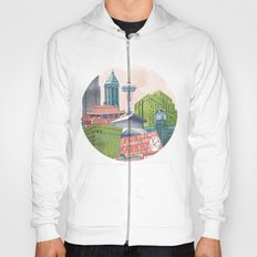 A Pleasant Day in Seattle Hoody