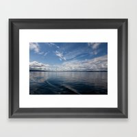 Infinite: Oslo Harbor Framed Art Print