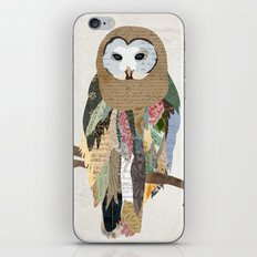 Owl Collage iPhone & iPod Skin