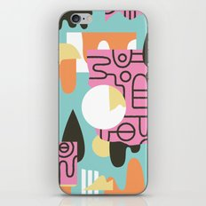 Amanaemonesia iPhone & iPod Skin