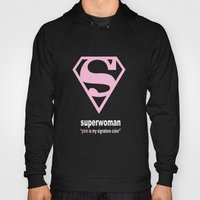 Superwoman - Breast Cancer Awareness Hoody