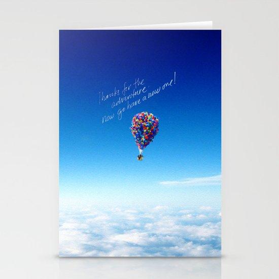 Glamorous Sky Stationery Card