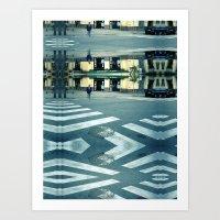 Saturday 3 November 2012: the path is clear Art Print