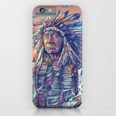 native american portrait-red cloud iPhone 6 Slim Case