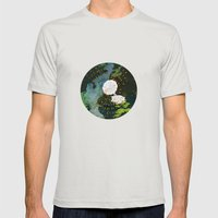 SEEING SOUNDS Mens Fitted Tee Silver SMALL