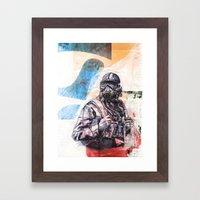 SKYPILOT Framed Art Print