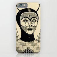 iPhone Cases featuring Preternatural Prison by Jon MacNair