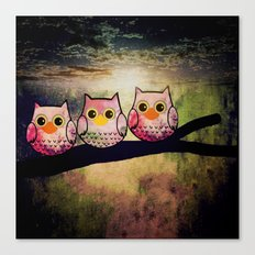 owl-1 Canvas Print