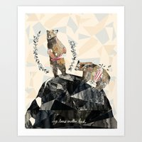 my love's another kind Art Print