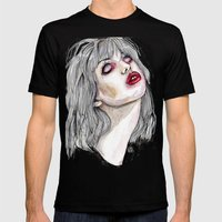 Nobody's daughter  Mens Fitted Tee Black SMALL