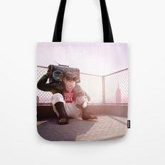 Monkey Beat Tote Bag