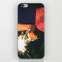 Summer Sparkler iPhone & iPod Skin