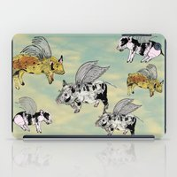 Pigs on the wing iPad Case