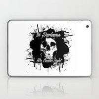 In Darkness, We Crave Li… Laptop & iPad Skin