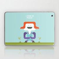 I Come In Peace Laptop & iPad Skin