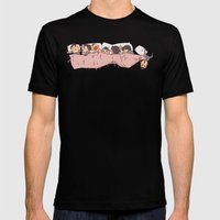 tiny Dereks in dreamland Mens Fitted Tee Black SMALL