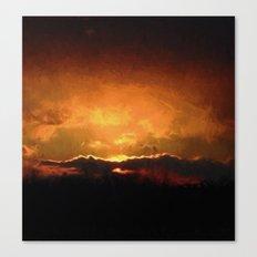 Pennsylvania Sunset Canvas Print