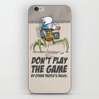 Don't Play The Game By O… iPhone & iPod Skin