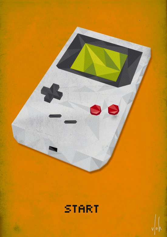 GameBoy Art Print