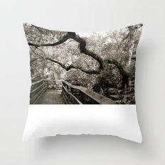 Bridge to ______ Throw Pillow