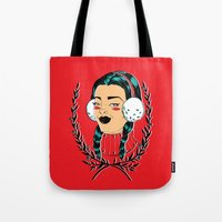 Winter Girl II Tote Bag