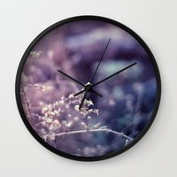 Blustered Wall Clock