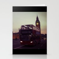 Big Ben At Dusk, London … Stationery Cards