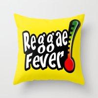 Reggae Fever Throw Pillow