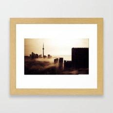 t.dot Framed Art Print